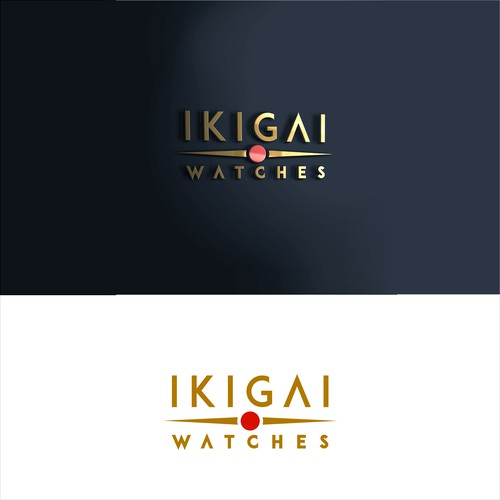 simplicity of logo disign for japanese watch shop