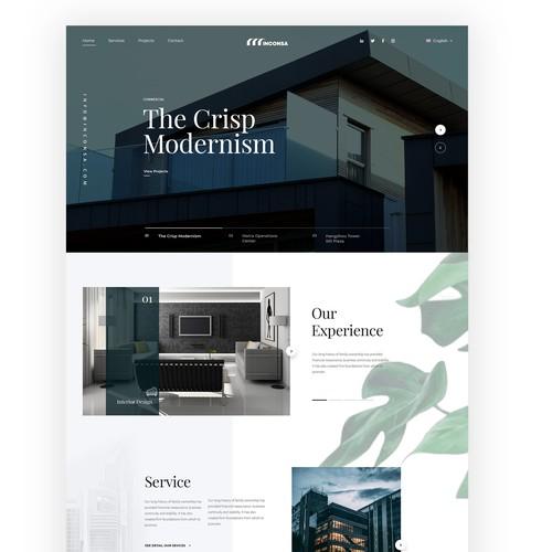 Elegant architect