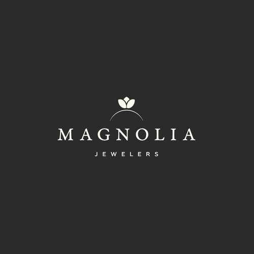 Logo design for the Magnolia Jewelers