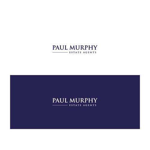 Bold Logo concept for Paul Murphy