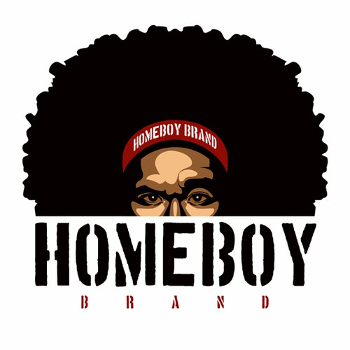 Homeboy T-shirt and Logo Design