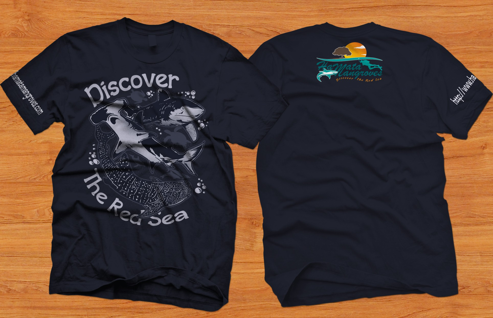 T-Shirt Design for liveaboard egypt