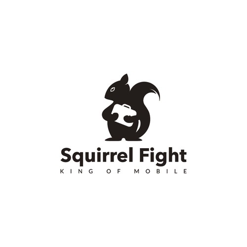 Create logo for Squirrel Fight