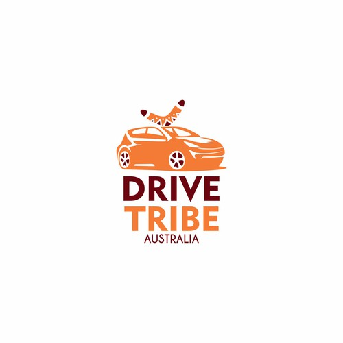 bold logo for drive tribe