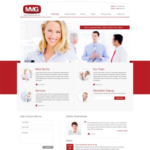 Help Mundo Media Group, Inc with a new website design