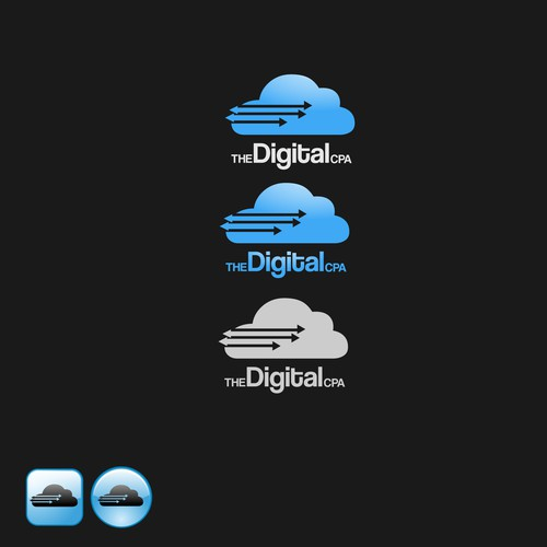 Create the next logo for thedigitalcpa
