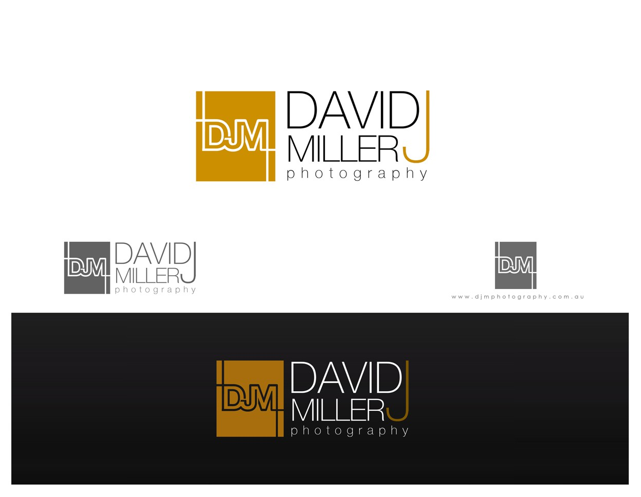 David James Miller Photography needs a new logo