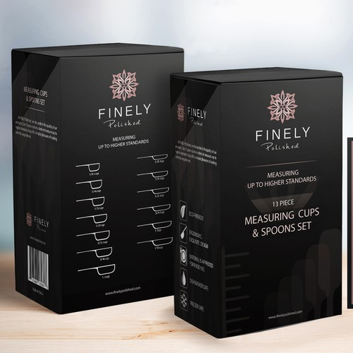 FINELY Polished packaging design