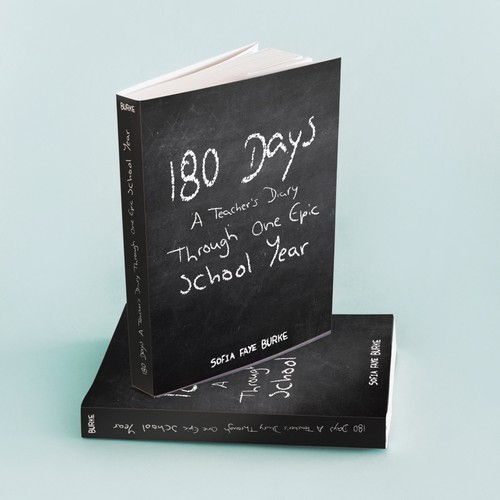 180 Days book cover contest