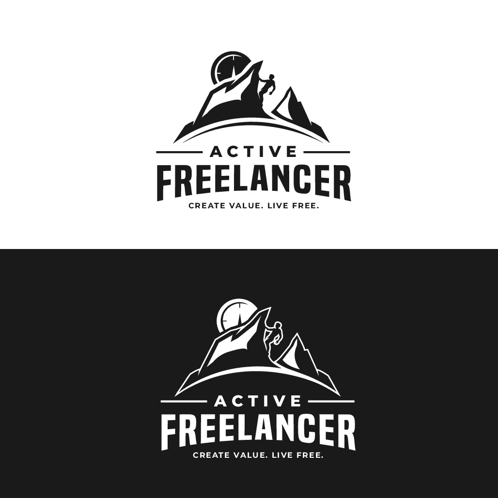 ActiveFreelancer.com needs modern logo to attract creative entrepreneurs with active lifestyle