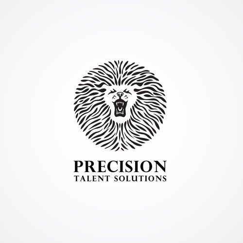 Unique and powerful identity for Precision Talent Solutions