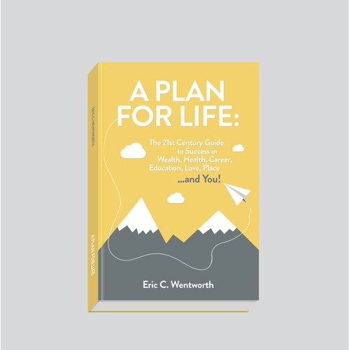 Minimalistic ebook cover design