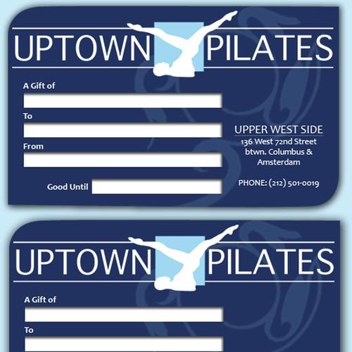 Uptown Pilates Card