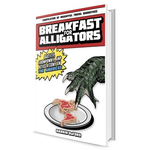 Book Cover Concept for Breakfast for Alligators