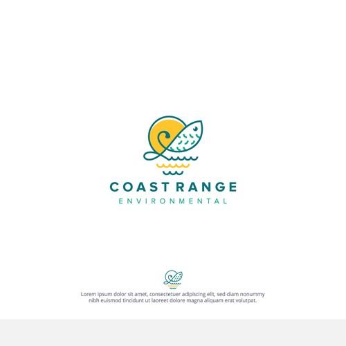 Simple logo For Coast Range