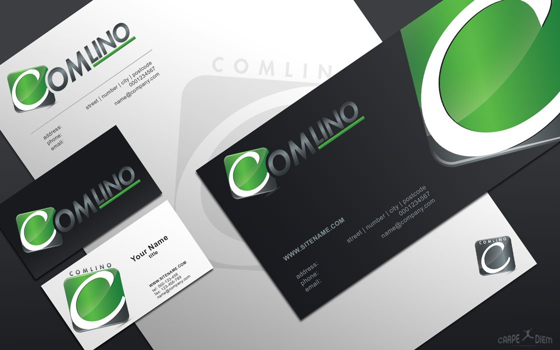COMLINO - future-oriented start-up needs a new logo ...
