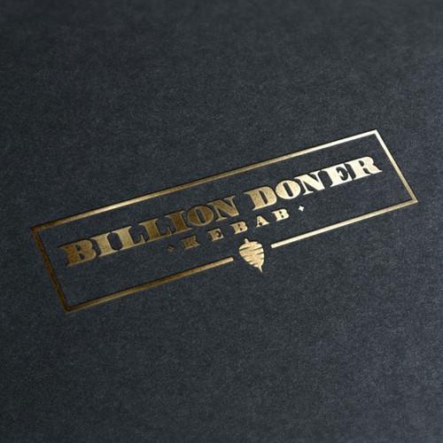 Logo design for Billion Doner Kebab