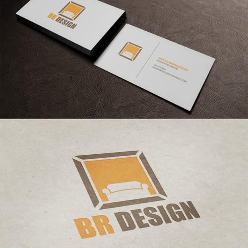 Interior designer looking for an out of the box, modern looking business cards.