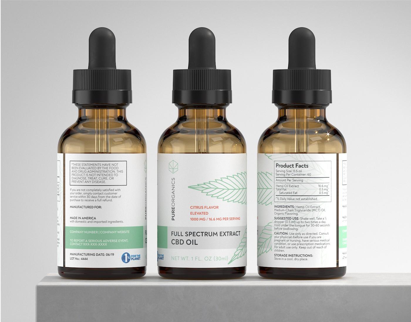 Modern CBD/Hemp packaging/brand needed