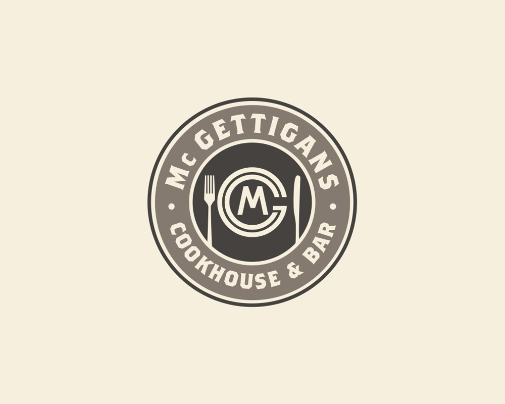 Help Mc Gettigans - cookhouse & Bar , Mc G  with a new logo