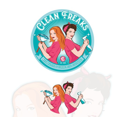 logo for Clean Freaks