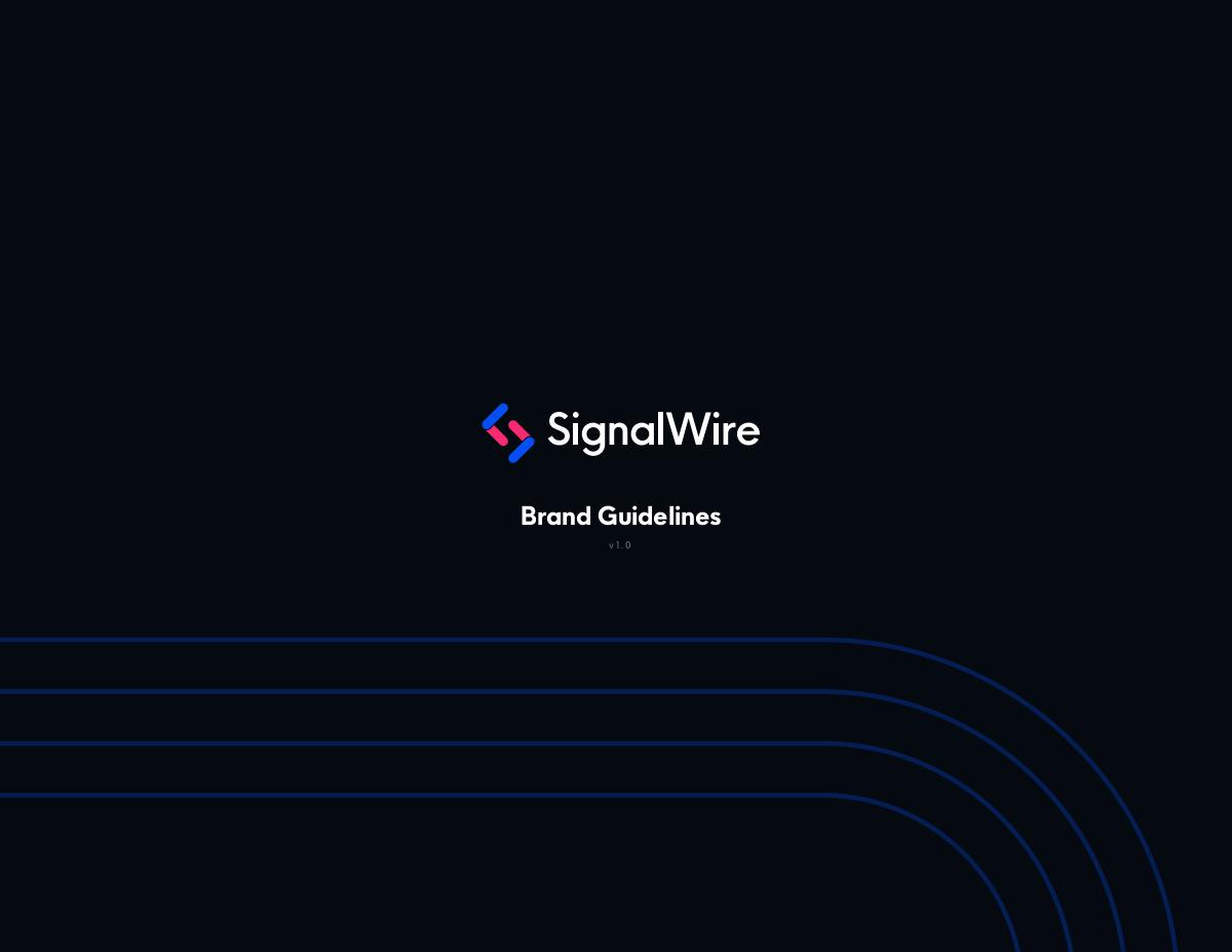 SignalWire Brand Style Guide