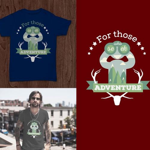 OUTDOOR ADVENTURE COMPANY needs shirt design!