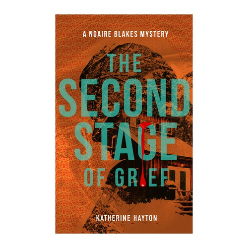 Book cover design for The Second Stage of Grief