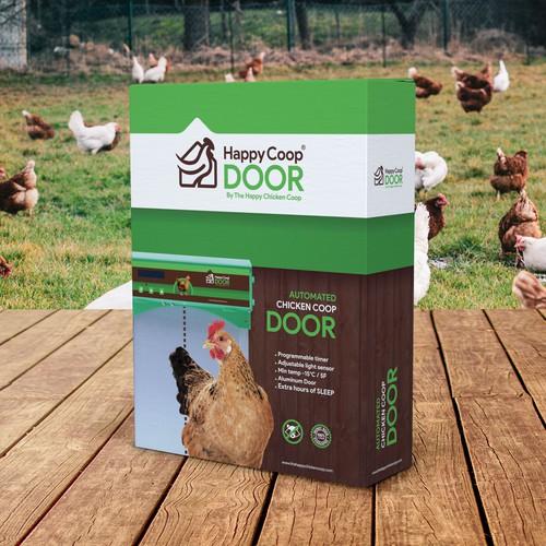 Happy Coop Door