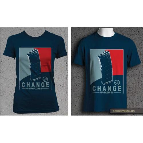 Create a Trendy Firearms industry T shirt!