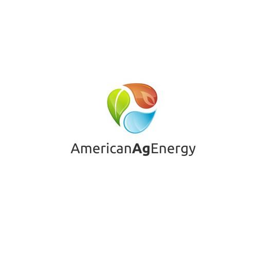 Logo for American Ag Energy, a green energy company