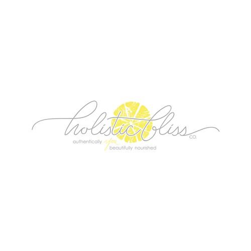 Fresh-feeling logo for a holistic health coach