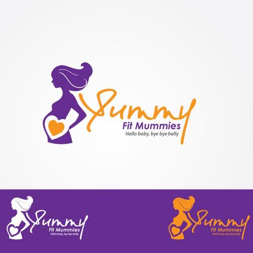 'Yummy Fit Mummies' logo
