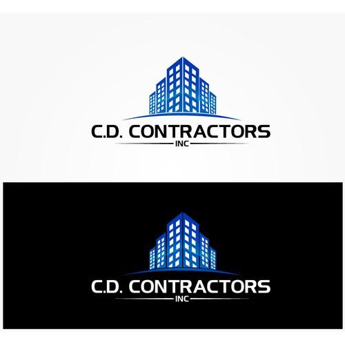 C.D. Contractors, Inc.  logo