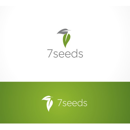 logo and business card for 7 Seeds