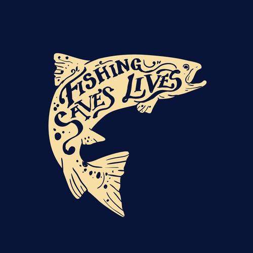 Fishing Saves Lives t-shirt
