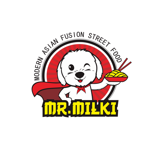 Logo concept for Mr Milki