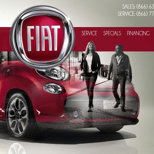 website design for www.fiatofkirkland.com