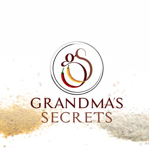 Grandma's Secrets Logo design