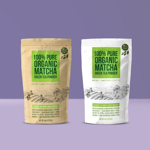 Matcha  Tea Package