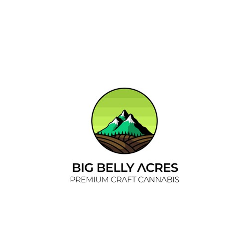 Mountain and Field Logo