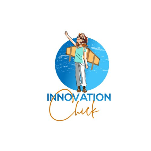 Logo for encouraging innovations company.