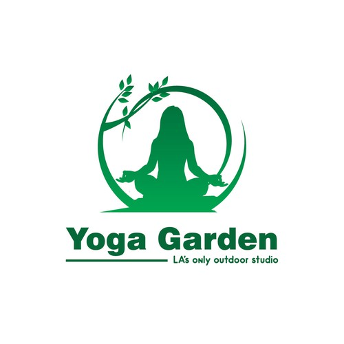 Create a Unique Logo for Outdoor Yoga Studio