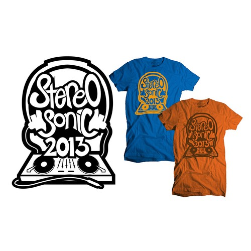 Create a bright, colourful, artistic and amazing T-Shirt for Stereosonic!