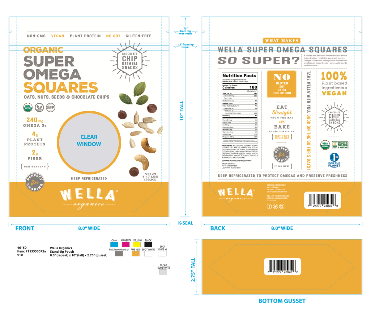 SOS Packaging - new flavor