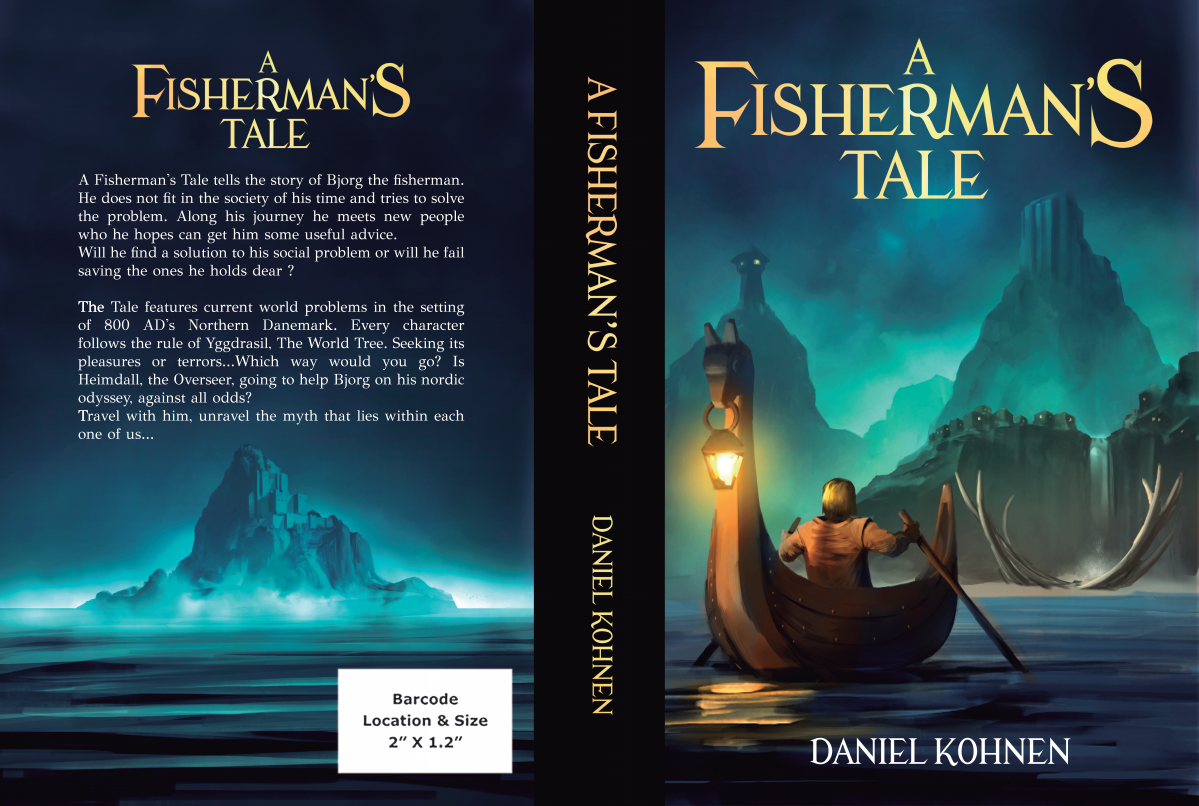 "Book art for ""A Fisherman's Tale"""