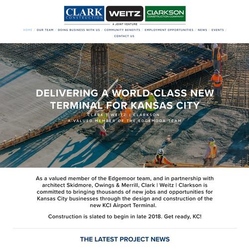 Clark Construction - Kansas City International Airport A Joint Venture Construction Project