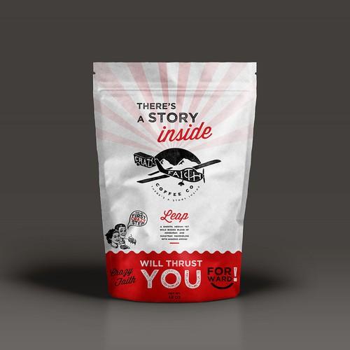 Coffee bag packaging