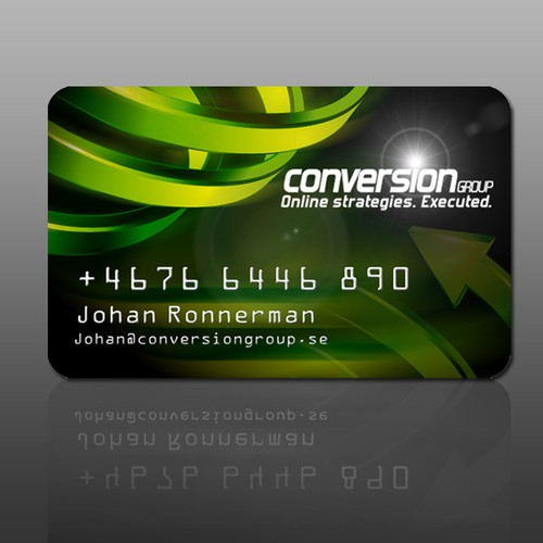 King of Photoshop? - Design Business Card looking as Credit Card