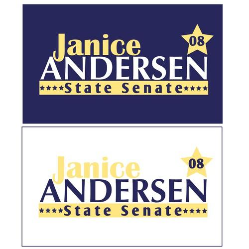 Andersen Political Yard Sign